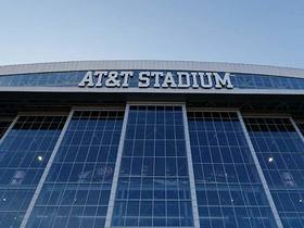 Watch: Jane Slater: AT&T Stadium expecting largest crowd in NFL Draft history