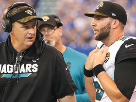 Watch: Doug Marrone: We expect Blake Bortles to make another big jump in 2018
