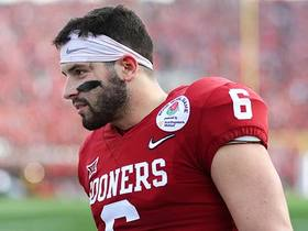 Watch: Peter Schrager: Everyone is against Baker Mayfield, which is what got him to this point