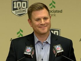 Watch: Gutekunst 'ready to get after it' in first draft as GM