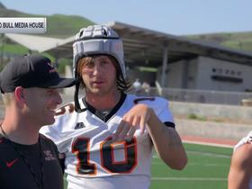 Watch: Jared Goff channels Uncle Drew, disguises himself as walk-on transfer QB at junior college