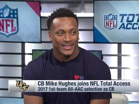 Watch: Mike Hughes on Shaquem Griffin: 'I love that guy, he's like my brother'