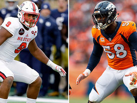 Watch: Bradley Chubb on praise from Von Miller: I want to go and prove him right