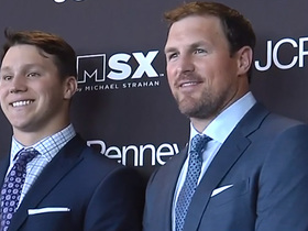 Watch: Josh Allen gushes about getting to hang out with Jason Witten