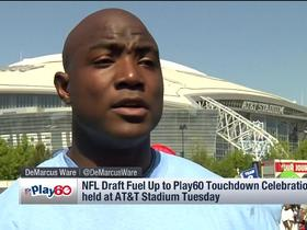 Watch: DeMarcus Ware talks about NFL Play 60's event in Dallas Tuesday