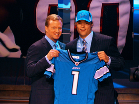 Watch: This Day in Draft History: Lions take Matthew Stafford with top pick in 2009
