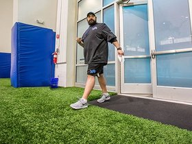 Watch: First on-field work for Patricia with voluntary minicamp