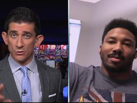 Watch: Myles Garrett on No. 1 draft pick: 'Go with an offensive guy'