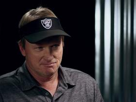 Watch: Gruden discusses how flexible Raiders are with trading No. 10 pick