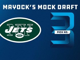 Watch: Mike Mayock 2018 mock draft: Jets | No. 3