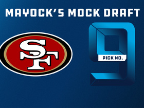 Watch: Mike Mayock 2018 mock draft: 49ers | No. 9