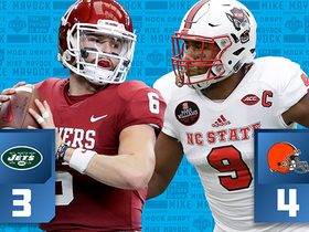 Watch: Mike Mayock's mock draft Top 10 in under 1 minute