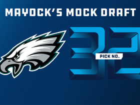 Watch: Mike Mayock mock draft 2018: Eagles | No. 32