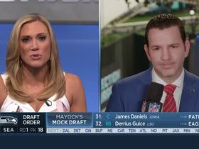 Watch: Rapoport: Offensive Josh Allen Tweets do not appear to be affecting his draft stock