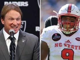 Watch: Silver: Raiders could be tempted to trade up to draft Bradley Chubb