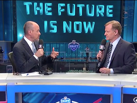 Watch: Goodell on future draft locations: 'There are over 20 cities interested'