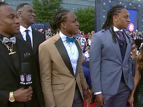 Watch: Best swag? Best dancer? Edmunds family shows off on red carpet