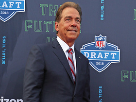 Watch: Nick Saban: 'I start to have butterflies' when names start getting called at draft