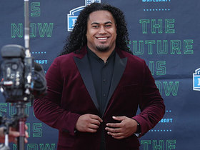 Watch: Vita Vea on his family heritage: 'I have to carry it strong with me'