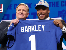 Watch: Giants select Saquon Barkley No. 2 in the 2018 NFL Draft