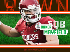Watch: Browns select Baker Mayfield No.1 in the 2018 NFL Draft