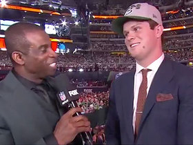 Watch: What can Jets' fans expect? Darnold: 'A lot of wins'