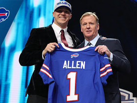 Watch: Bills select Josh Allen No. 7 in the 2018 NFL Draft