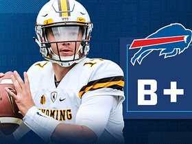 Watch: Instant Draft Grade Josh Allen: B+