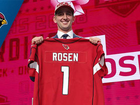 Watch: Cardinals select Josh Rosen No. 10 in the 2018 NFL Draft