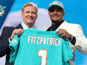 Watch: Dolphins select Minkah Fitzpatrick No. 11 in the 2018 NFL Draft