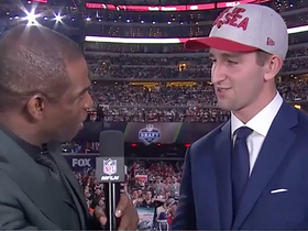 Watch: Josh Rosen on waiting to be drafted: 'I just want to get on the field'
