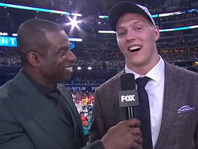 Watch: Vander Esch on going to Cowboys: 'We've got Super Bowls to win, a lot of them'