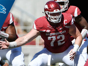 Watch: Lions select Frank Ragnow No. 20 in the 2018 NFL Draft