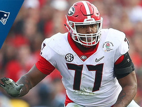 Watch: Patriots select Isaiah Wynn No. 23 in the 2018 NFL Draft