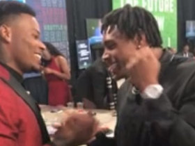 Watch: Former Florida State teammates Derwin James and Jalen Ramsey share high-fives at the 2018 NFL Draft