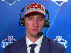 Watch: Josh Rosen: Second I got the call, the motivation and determination set in