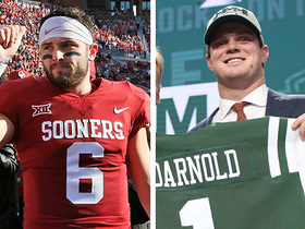 Watch: Warner: If I were the Browns, I would have gone with Darnold at No. 1