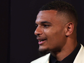 Watch: Minkah Fitzpatrick reads draft letter written by his mother