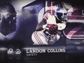 'Top 100 Players of 2018': Landon Collins | No. 92