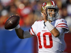 Carlos Hyde: Jimmy Garoppolo is 'as good as advertised'