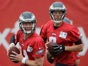 Garafolo: Don't expect to see a lot of Wentz, Foles in preseason for Eagles