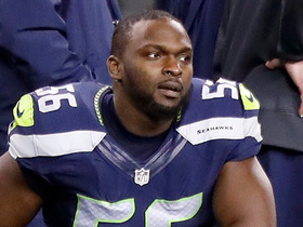 Seahawks release Cliff Avril after five seasons