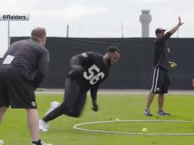 Get your first look at Derrick Johnson in Raiders colors