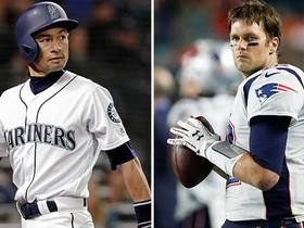 Ichiro's response to a text from Tom Brady is priceless