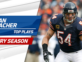 Watch: Brian Urlacher's top plays from each year of his career