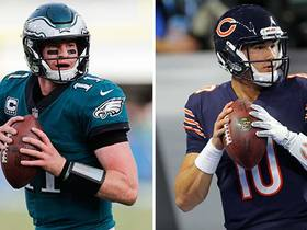 Trey Burton: Mitchell Trubisky in same 'category' as Carson Wentz