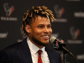 Kay Adams: Tyrann Mathieu's ability to line up anywhere will have huge impact on Texans defense