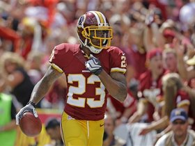 Watch: Every interception from DeAngelo Hall's career