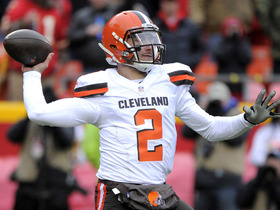 Watch: Browns vs. Chiefs: Johnny Manziel highlights week 16
