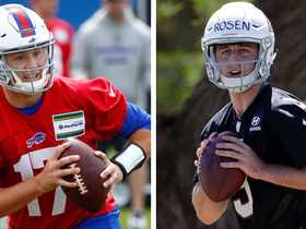 Watch: Kyle Brandt: Josh Allen and Josh Rosen will start zero games in 2018